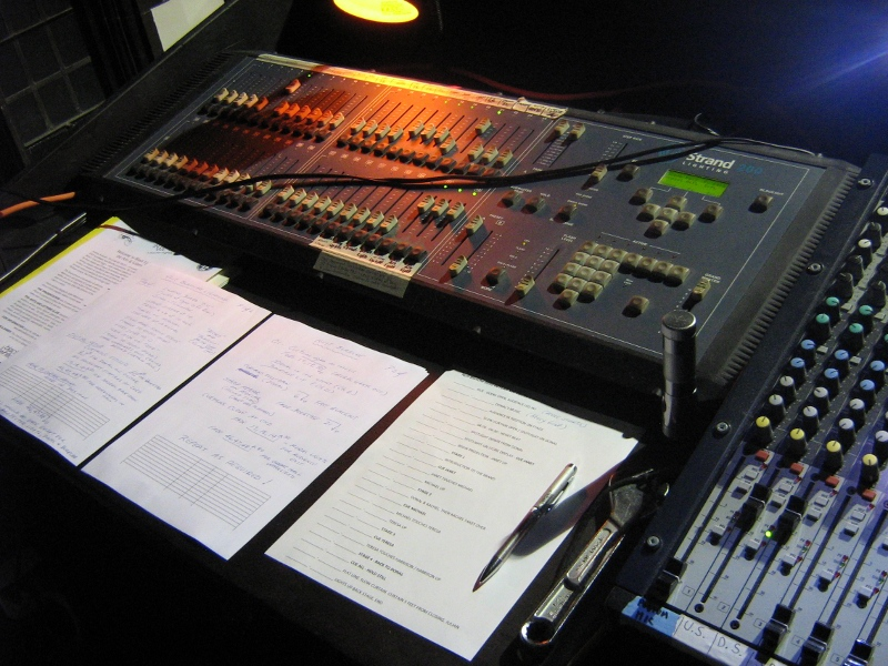 The lighting board