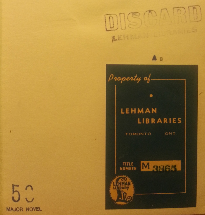 Lehman Libraries label