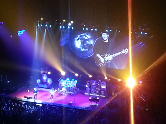Rush, seen in Montreal while I was at Access 2012.  Great show.