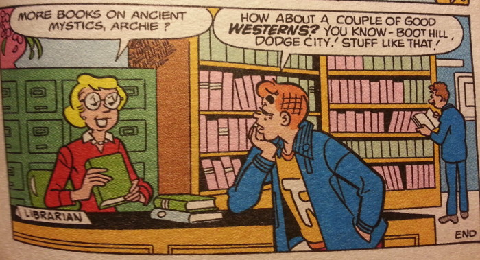 Archie and the librarian