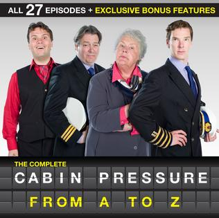 Cabin Pressure CD cover