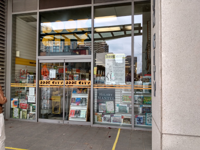 Book City storefront