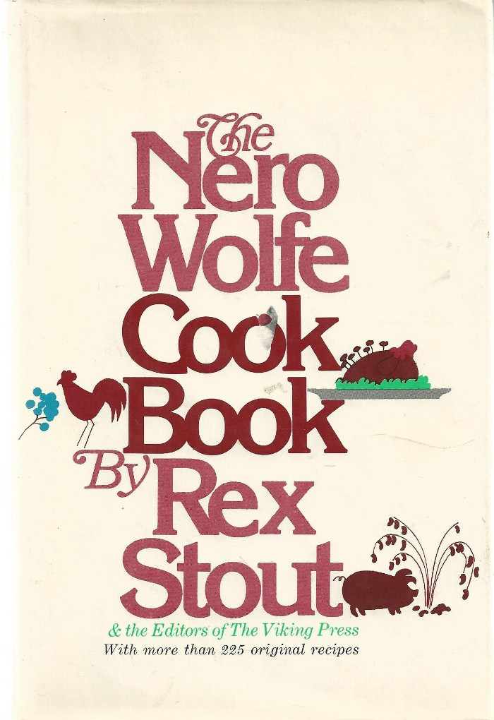 Cover of The Nero Wolfe Cookbook.