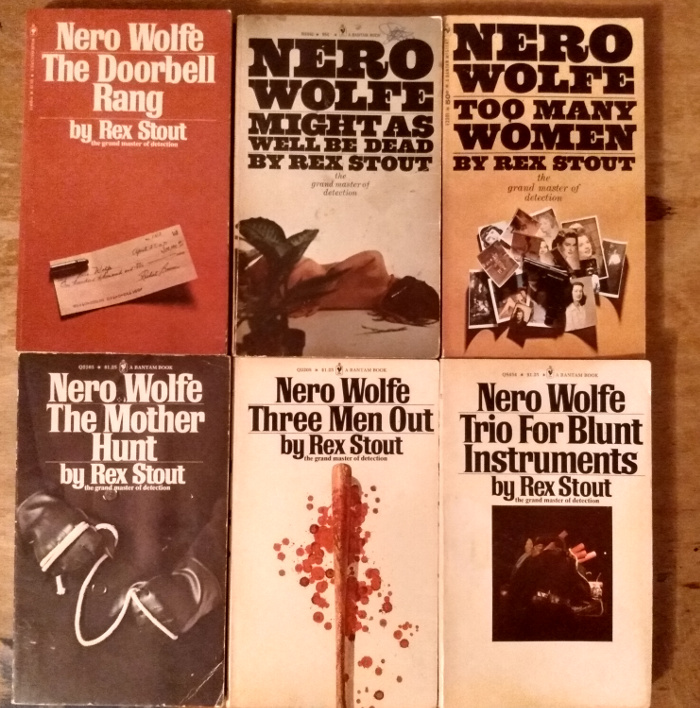 Nero Wolfe book covers