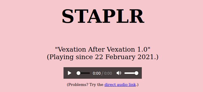 STAPLR screenshot