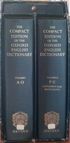 Front of my OED