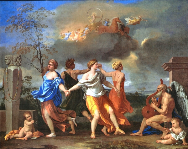 Poussin's Dance to the Music of Time